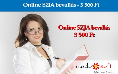 Online Személyi jövedelemadó